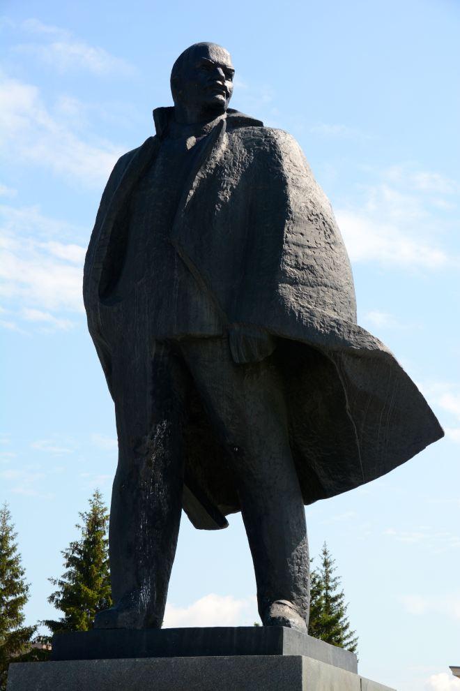 Lenin von vorn